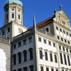 Picture - The city house of Augsburg.