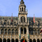 Picture - The City Hall tower in Brussel's Grand Place.