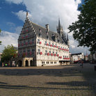 Picture - The old Town Hall in Gouda.