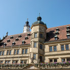 Picture - Town hall in Rothenburg ob der Tauber.