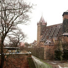 Picture - Part of the old City Wall and Castle, Nuremberg.