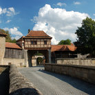Picture - The gateway to Rothenburg ob der Tauber.