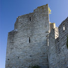 Picture - Close up of the Visby town walls.