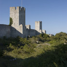 Picture - Towers along the Visby town walls.