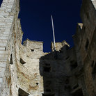 Picture - Close up of the town walls of Visby.