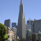 Picture - Transamerica pyramid building in San Francisco.