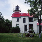 Picture - Grand Traverse Lighthouse near Traverse City.