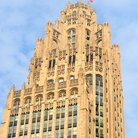 Picture - The Tribune Tower on a clear day in Chicago.