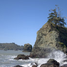 Picture - Rocky Coastline of Trinidad.