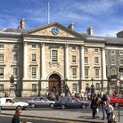Picture - Trinity College in Dublin.