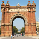 Picture - The Arch de Triomf, Barcelona.