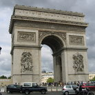 Picture - The Arc de Triomphe in Paris.