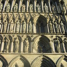 Picture - Detail from the Trondheim Cathedral.