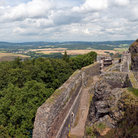 Picture - A panoramic view of the Trosky Castle and surroundings.