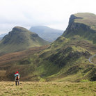 Picture - View of the Trotternish Range, Isle of Skye.