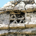 Picture - Window of Mayan ruin in Tulum.