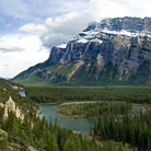 Picture - Tunnel Mountain in Banff National Park.
