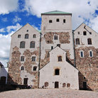 Picture - View of the Turku Castle.
