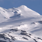 Picture - View of the top of Mount Ruapehu.