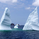 Picture - Icebergs near Twillingate.