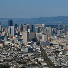 Picture - View of San Francisco from Twin Peaks.
