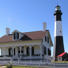 Picture - Tybee Island lighthouse and keeper's house.