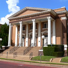 Picture - The Greek Revival style Baptist Church in Tyler.
