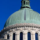 Picture - Dome of the United States Naval Academy in Annapolis.