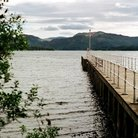 Picture - Jetty at Pooley Bridge in Ullswater in the Lake District.