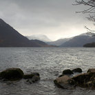 Picture - Mountains around Ullswater in the Lake District.