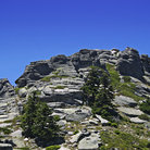 Picture - Rock formation at the Uludag massif.
