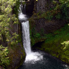 Picture - Toketee Falls in Umpqua National Forest.