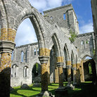 Picture - Arches of the Unfinished Church in St George.