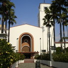 Picture - Union Station, Spanish mission-house style, Los Angeles.
