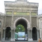 Picture - The fortress style entrance to Istanbul University.