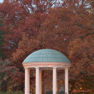 Picture - The Old Well in the University of North Carolina Campus in Chapel Hill.