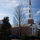 Picture - The spire of Battle Hall at University of North Carolina in Chapel Hill.