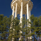 Picture - Water tower at University of North Carolina in Chapel Hill.