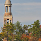 Picture - University of North Carolina bell tower, Chapel Hill, North Carolina.