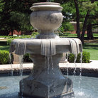 Picture - Water fountain on the campus of the University of Oklahoma in Norman.