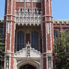 Picture - Entrance to building on the campus of University of Oklahoma.