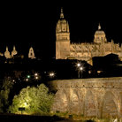Picture - Night view of Salamanca the Universidad de Salamanca.