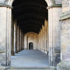 Picture - Colonade at St Andrews University.