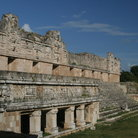 Picture - Mayan ruins at Uxmal.