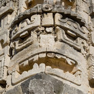 Picture - Detail of a carving at Uxmal.
