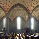 Picture - Interior of a church in Vadstena.