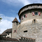 Picture - A medieval castle in the city of Vaduz.
