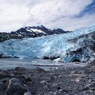 Picture - Shoup Glacier in Valdez.