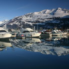 Picture - Boats at a marina in Valdez.
