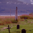 Picture - An old cemetery at Valdez.